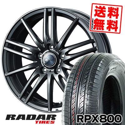 205/55R16 94W XL RADAR レーダー RPX800 アールピーエックス ハッピャク Zamik Tito ザミック ティート サマータイヤホイール4本セット【取付対象】