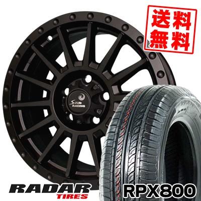205/55R16 94W XL RADAR レーダー RPX800 アールピーエックス ハッピャク turbine S1 タービン S1 サマータイヤホイール4本セット