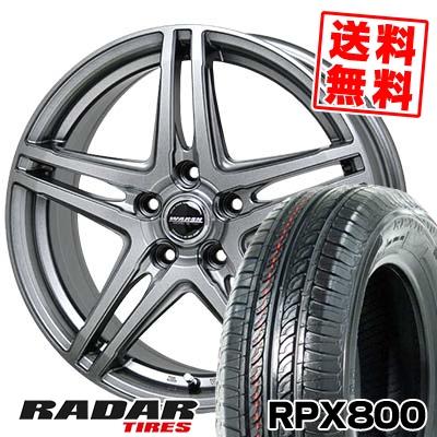215/70R15 98T RADAR レーダー RPX800 アールピーエックス ハッピャク WAREN W04 ヴァーレン W04 サマータイヤホイール4本セット