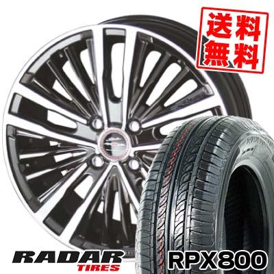 195/40R17 81W XL RADAR レーダー RPX800 アールピーエックス ハッピャク SHALLEN XR-75 MONOBLOCK シャレン XR75 モノブロック サマータイヤホイール4本セット