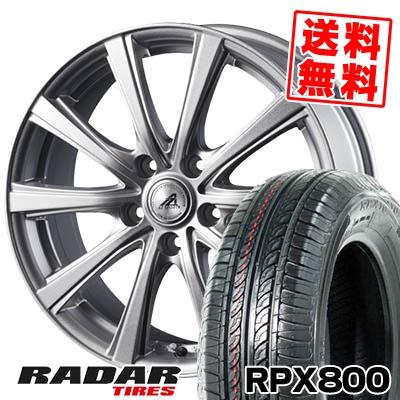 215/70R15 98T RADAR レーダー RPX800 アールピーエックス ハッピャク AZ sports YL-10 AZスポーツ YL-10 サマータイヤホイール4本セット
