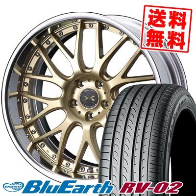 245/35R20 95W XL YOKOHAMA ヨコハマ BLUE EARTH RV02 ブルーアース RV-02 weds MAVERICK 709M ウエッズ マーベリック 709M サマータイヤホイール4本セット