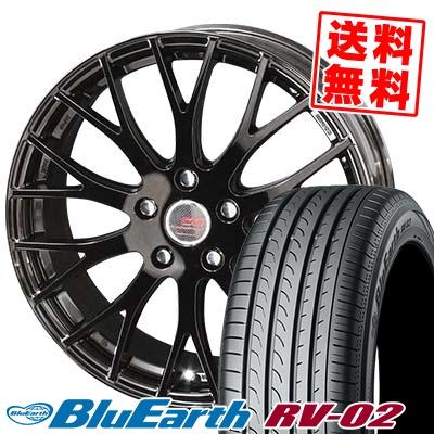 195/65R15 91H YOKOHAMA ヨコハマ BLUE EARTH RV02 ブルーアース RV-02 ENKEI CREATIVE DIRECTION CDM2 エンケイ クリエイティブ ディレクション CD-M2 サマータイヤホイール4本セット
