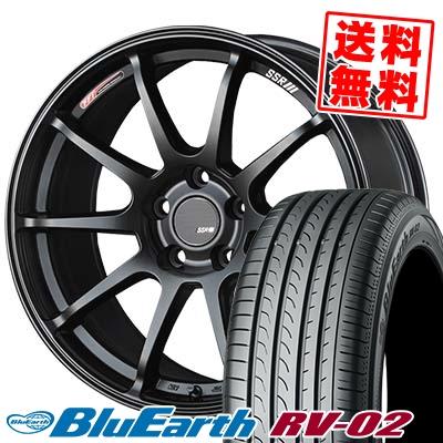 245/40R19 98W XL YOKOHAMA ヨコハマ BLUE EARTH RV02 ブルーアース RV02 SSR GTV02 SSR GTV02 サマータイヤホイール4本セット