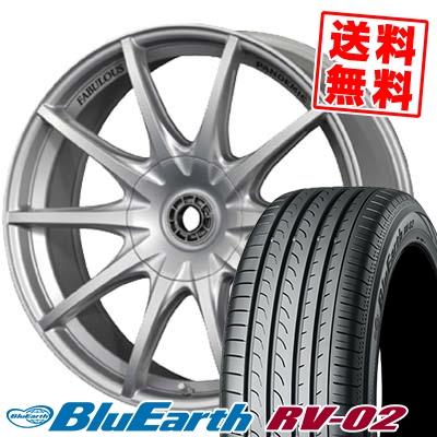 215/55R18 99V XL YOKOHAMA ヨコハマ BLUE EARTH RV02 ブルーアース RV-02 PANDEMIC LW-10 MONO BLOCK パンデミック LW-10 モノブロック サマータイヤホイール4本セット