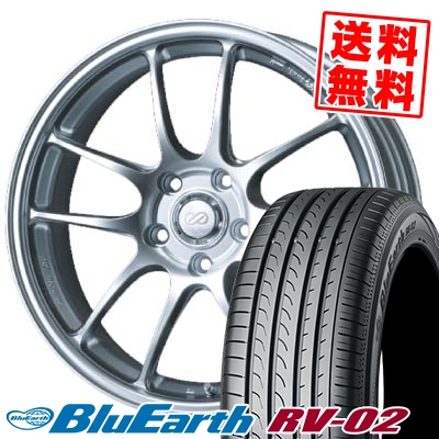2021新入荷 225/55R18 98V YOKOHAMA 98V ヨコハマ BLUE EARTH RV02 PF01 YOKOHAMA ブルーアース RV02 ENKEI PerformanceLine PF-01 エンケイ パフォーマンスライン PF01 サマータイヤホイール4本セット【取付対象】, ユキミ家具:7cf7f382 --- delivery.lasate.cl