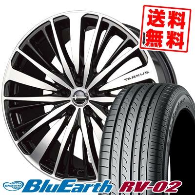 245/40R20 99W XL YOKOHAMA ヨコハマ BLUE EARTH RV02 ブルーアース RV02 BADX LOXARNY TARKUS バドックス ロクサーニ タルカス サマータイヤホイール4本セット