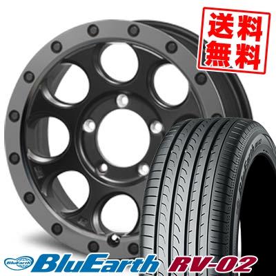 225/55R18 98V YOKOHAMA ヨコハマ BLUE EARTH RV02 ブルーアース RV-02 XTREME-J XJ03 エクストリームJ XJ-03 サマータイヤホイール4本セット