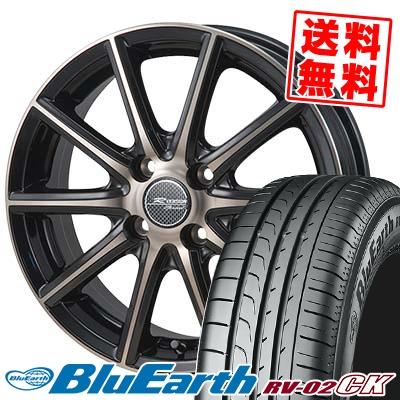 155/65R14 75H YOKOHAMA ヨコハマ BLUE EARTH RV02 CK ブルーアース RV-02 CK MONZA R VERSION Sprint モンツァ Rヴァージョン スプリント サマータイヤホイール4本セット