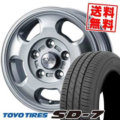 185/65R15 88S TOYO TIRES トーヨー タイヤ SD-7 エスディーセブン VICENTE-05 NV ヴィセンテ05 NV サマータイヤホイール4本セット