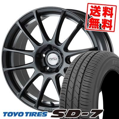 215/55R17 94V TOYO TIRES トーヨー タイヤ SD-7 エスディーセブン 5ZIGEN PRORACER Z1 5ジゲン プロレーサー Z1 サマータイヤホイール4本セット