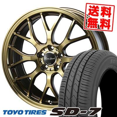 215/50R17 91V TOYO TIRES トーヨー タイヤ SD-7 エスディーセブン Eouro Sport Type 805 ユーロスポーツ タイプ805 サマータイヤホイール4本セット
