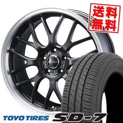 225/45R18 91W TOYO TIRES トーヨー タイヤ SD-7 エスディーセブン Eoro Sport Type 805 ユーロスポーツ タイプ805 サマータイヤホイール4本セット