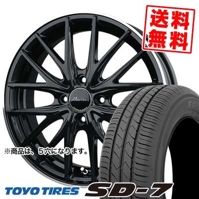 225/45R18 91W TOYO TIRES トーヨー タイヤ SD-7 エスディーセブン Precious AST M1 プレシャス アスト M1 サマータイヤホイール4本セット
