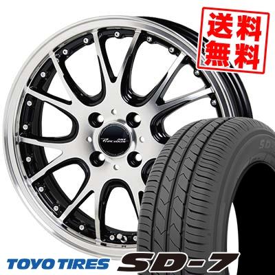 175/65R15 84S TOYO TIRES トーヨー タイヤ SD-7 エスディーセブン Precious AST M2 プレシャス アスト M2 サマータイヤホイール4本セット