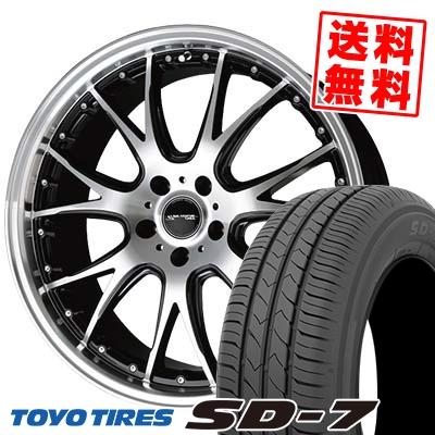 215/45R17 87W TOYO TIRES トーヨー タイヤ SD-7 エスディーセブン Precious AST M2 プレシャス アスト M2 サマータイヤホイール4本セット