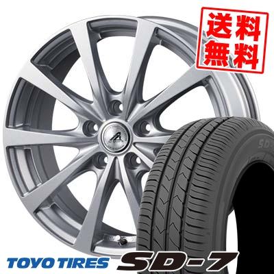 205/65R15 94H TOYO TIRES トーヨー タイヤ SD-7 エスディーセブン AZ SPORTS EX10 AZスポーツ EX10 サマータイヤホイール4本セット