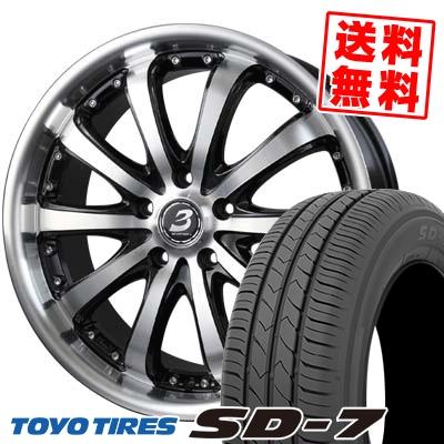 215/50R17 91V TOYO TIRES トーヨー タイヤ SD-7 エスディーセブン BADX LOXARNY EX BYRON STINGER バドックス ロクサーニ EX バイロンスティンガー サマータイヤホイール4本セット