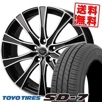215/50R17 91V TOYO TIRES トーヨー タイヤ SD-7 エスディーセブン Warwic Carozza ワーウィック カロッツァ サマータイヤホイール4本セット