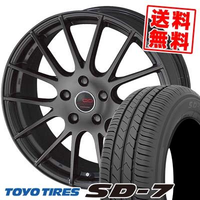 205/65R15 94H TOYO TIRES トーヨー タイヤ SD-7 エスディーセブン ENKEI CREATIVE DIRECTION CDM1 エンケイ クリエイティブ ディレクション CD-M1 サマータイヤホイール4本セット