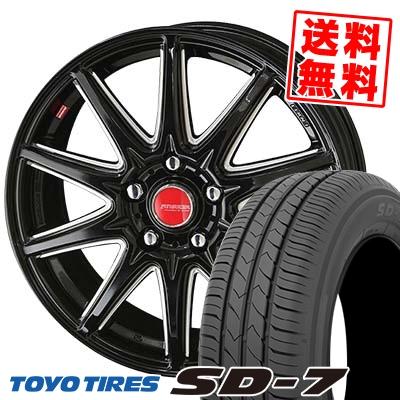 205/65R15 94H TOYO TIRES トーヨー タイヤ SD-7 エスディーセブン RIVAZZA CORSE リヴァッツァ コルセ サマータイヤホイール4本セット