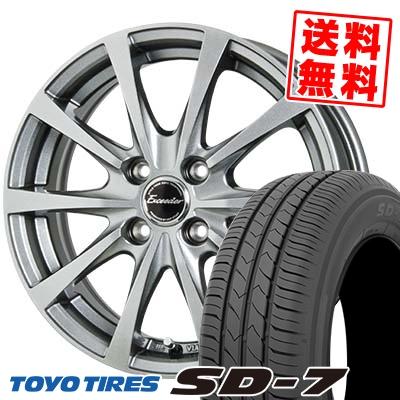 175/60R16 82H TOYO TIRES トーヨー タイヤ SD-7 エスディーセブン Exceeder E03 エクシーダー E03 サマータイヤホイール4本セット