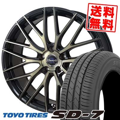 215/50R17 91V TOYO TIRES トーヨー タイヤ SD-7 エスディーセブン Warwic Empress Mesh ワーウィック エンプレスメッシュ サマータイヤホイール4本セット