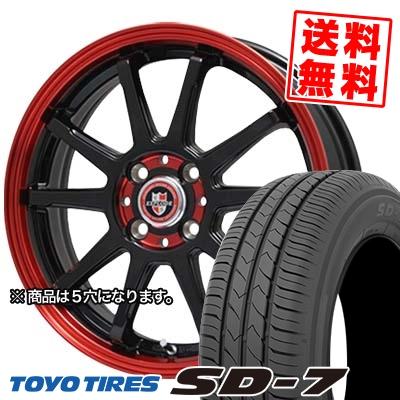 215/50R17 91V TOYO TIRES トーヨー タイヤ SD-7 エスディーセブン EXPRLODE-RBS エクスプラウド RBS サマータイヤホイール4本セット