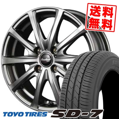 155/80R13 79S TOYO TIRES トーヨー タイヤ SD-7 エスディーセブン EuroSpeed V25 ユーロスピード V25 サマータイヤホイール4本セット