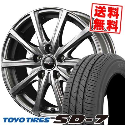 205/55R16 91V TOYO TIRES トーヨー タイヤ SD-7 エスディーセブン EuroSpeed V25 ユーロスピード V25 サマータイヤホイール4本セット【取付対象】