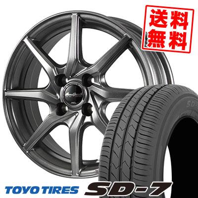 165/70R14 81S TOYO TIRES トーヨー タイヤ SD-7 エスディーセブン EuroSpeed G810 ユーロスピード G810 サマータイヤホイール4本セット