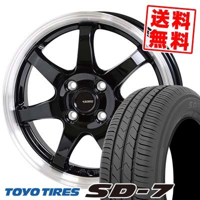 185/65R14 86S TOYO TIRES トーヨー タイヤ SD-7 エスディーセブン G.speed P-03 ジースピード P-03 サマータイヤホイール4本セット