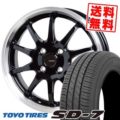 175/65R15 84S TOYO TIRES トーヨー タイヤ SD-7 エスディーセブン G.speed P-04 ジースピード P-04 サマータイヤホイール4本セット