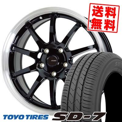 205/65R15 94H TOYO TIRES トーヨー タイヤ SD-7 エスディーセブン G.speed P-04 ジースピード P-04 サマータイヤホイール4本セット【取付対象】