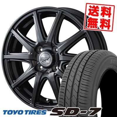 175/65R14 82S TOYO TIRES トーヨー タイヤ SD-7 エスディーセブン FINALSPEED GR-Γ ファイナルスピード GRガンマ サマータイヤホイール4本セット