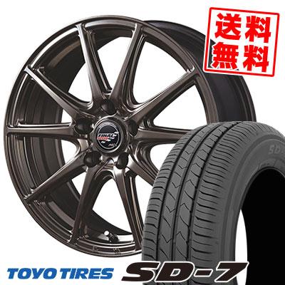 195/65R15 91H TOYO TIRES トーヨー タイヤ SD-7 エスディーセブン FINALSPEED GR-Volt ファイナルスピード GRボルト サマータイヤホイール4本セット