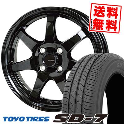185/65R14 86S TOYO TIRES トーヨー タイヤ SD-7 エスディーセブン G.speed G-03 Gスピード G-03 サマータイヤホイール4本セット