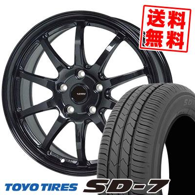 225/45R18 91W TOYO TIRES トーヨー タイヤ SD-7 エスディーセブン G.speed G-04 Gスピード G-04 サマータイヤホイール4本セット