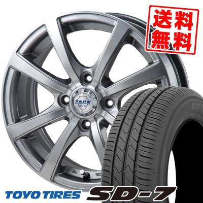 175/65R14 82S TOYO TIRES トーヨー タイヤ SD-7 エスディーセブン ZACK JP-110 ザック JP110 サマータイヤホイール4本セット