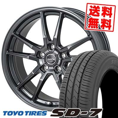 205/65R15 94H TOYO TIRES トーヨー タイヤ SD-7 エスディーセブン ZACK JP-520 ザック ジェイピー520 サマータイヤホイール4本セット