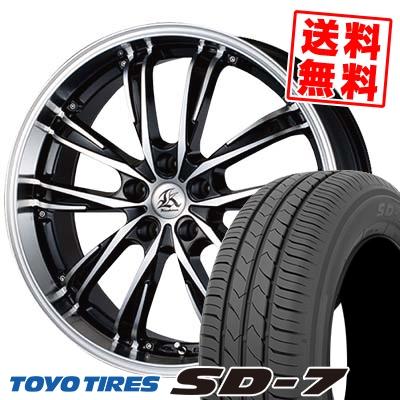 225/45R18 91W TOYO TIRES トーヨー タイヤ SD-7 エスディーセブン Kashina XV5 カシーナ XV5 サマータイヤホイール4本セット