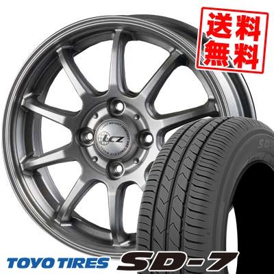 185/70R14 88S TOYO TIRES トーヨー タイヤ SD-7 エスディーセブン LCZ010 LCZ010 サマータイヤホイール4本セット