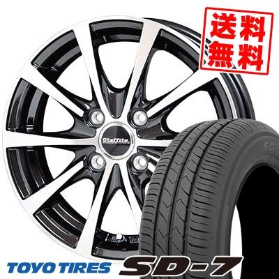 185/70R14 88S TOYO TIRES トーヨー タイヤ SD-7 エスディーセブン Laffite LE-03 ラフィット LE-03 サマータイヤホイール4本セット