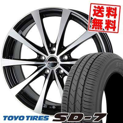 205/55R16 91V TOYO TIRES トーヨー タイヤ SD-7 エスディーセブン Laffite LE-03 ラフィット LE-03 サマータイヤホイール4本セット