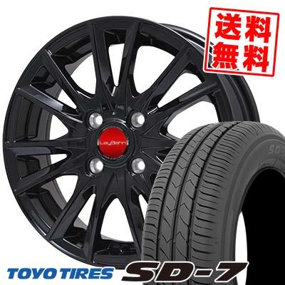 185/65R15 88S TOYO TIRES トーヨー タイヤ SD-7 エスディーセブン LeyBahn GBX レイバーン GBX サマータイヤホイール4本セット