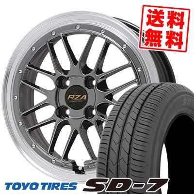 175/60R16 82H TOYO TIRES トーヨー タイヤ SD-7 エスディーセブン Leycross REZERVA レイクロス レゼルヴァ サマータイヤホイール4本セット