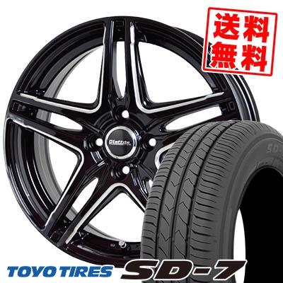 175/60R16 82H TOYO TIRES トーヨー タイヤ SD-7 エスディーセブン Laffite LW-04 ラフィット LW-04 サマータイヤホイール4本セット