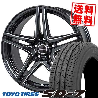 205/65R15 94H TOYO TIRES トーヨー タイヤ SD-7 エスディーセブン Laffite LW-04 ラフィット LW-04 サマータイヤホイール4本セット