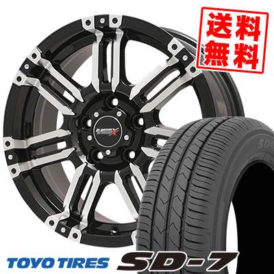 215/50R17 91V TOYO TIRES トーヨー タイヤ SD-7 エスディーセブン B-MUD X Bマッド エックス サマータイヤホイール4本セット