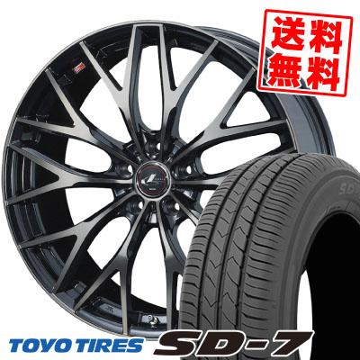 205/55R16 91V TOYO TIRES トーヨー タイヤ SD-7 エスディーセブン weds LEONIS MX ウェッズ レオニス MX サマータイヤホイール4本セット